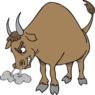 Жителя Тульской области забодал разъярённый бык