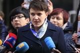 Савченко намерена продолжать работу в Верховной Раде