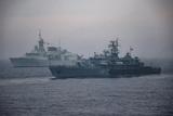 Корабли НАТО завершили учения в Черном море