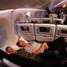 В самолетах Air Astana появился спальный эконом-класс