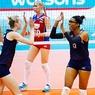 Волейбол: Российский блок спасовал перед американской атакой