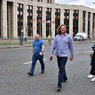 На проспекте Сахарова собрался митинг в поддержку кандидатов от оппозиции