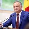 Появилось видео ДТП с кортежем президента Молдавии