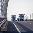 На Крымском мосту снова зафиксировано рекордное количество автомобилей