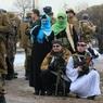 В Сирии из лагеря пленных сбежали до пятидесяти россиянок, связанных с террористами