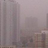 В Китае свирепствует песчаная буря: авиарейсы отменены