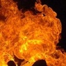 Обнародована видеозапись крупного пожара на площади Киевского вокзала Москвы