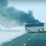 Названа предварительная причина возгорания автобуса в Казахстане