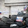 Донецкие активисты захватывают милицию, и раздают оружие