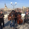 Борис Гребенщиков дал уличный концерт в Харькове (видео)