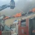 В Москве часть Пречистенки перекрыта из-за пожара в историческом здании