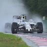 Погода и аварии не помешали Росбергу выиграть поул Гран-при Венгрии