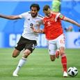 Сборная России обыграла команду Египта в матче ЧМ-2018