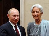 Путин обсудил с главой МВФ ситуацию с греческим долгом