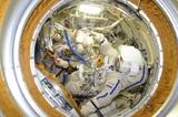 Во время возвращения на Землю экипажа МКС возникла нештатная ситуация