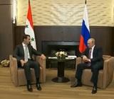 Путин встретился с Башаром Асадом в Москве