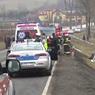Автобус с россиянами попал в аварию в Польше