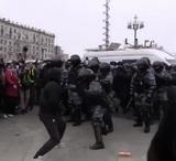 Задержан Джумаев, устроивший битву с омоновцами 23 января в столице и отбитый протестующими