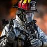 На Кубани произошёл крупный пожар на складе пиломатериалов