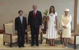 Трамп первым из иностранных лидеров встретился с новым императором Японии