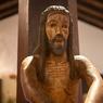 Деревянная статуя Иисуса Христа прятала послание потомкам