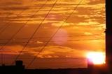 Вспышка на обратной к Земле стороне Солнца была такой мощи, что виделась из-за края светила