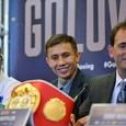 Непобежденный Головкин защитил титулы WBC, WBA и IBF в поединке с Бруком