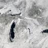 Великие озера Америки впервые за полвека полностью замерзли