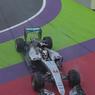 Росберг - первый, а Квят - седьмой в квалификации Гран-при Европы в Баку