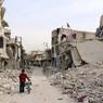 Сирийские семьи покинули восточные районы Алеппо