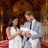 В Великобритании гадают, кто станет крёстной сына принца Гарри и Меган Маркл
