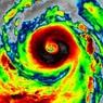 Появилось видео «самого сильного урагана на Земле» из космоса