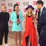 """""""Голое"""" платье дизайнера вызвало шок у зрителей премии RU.TV"""