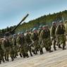 Десант рулит: люди в тельняшках с флагами ВДВ перекрыли мост через Обь в Новосибирске