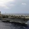 Вертолёт ВМС США упал на палубу авианосца