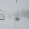На зимних курортах Италии бушует снежная буря