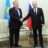 О чем договорились  Путин и Назарбаев