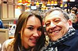 Жена Бориса Грачевского появилась с огромным животом на светском мероприятии