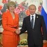 Песков прокомментировал сообщения о возможной встрече Путина и Мэй