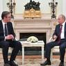 Путин подписал указ о награждении президента Сербии орденом