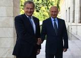 Владимир Путин и Саули Ниинисте совершили морскую прогулку на президентской яхте