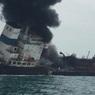 Нефтяной танкер взорвался и загорелся у берегов Гонконга