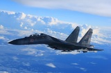 Российский Су-35 продемонстрировал фигуры высшего пилотажа в небе над Стамбулом