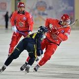 Бенди ЧМ-2016: В первом матче турнира Россия разгромила Казахстан