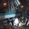 В Анкаре скоростной поезд врезался в другой состав и сошёл с рельсов