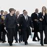 Путин, Олланд и Меркель снялись на память в полном молчании (ФОТО)