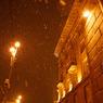 Снегопады работам по озеленению Садового кольца в Москве не мешают