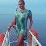 Балерина Волочкова перестаралась с растяжкой и показала интимное
