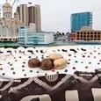 В Екатеринбурге испекли самый большой пасхальный кулич