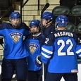 Российские юниоры уступили сверстникам из Финляндии в четвертьфинале ЧМ